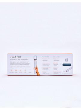 Le Wand Original Vibrator Pearl back packaging