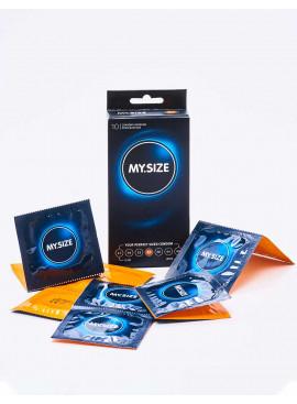 Box of 10 Condoms Ultra Thin My Size 57mm