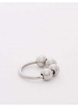 Stainless steel Glans Ring  Ze 4 Balls