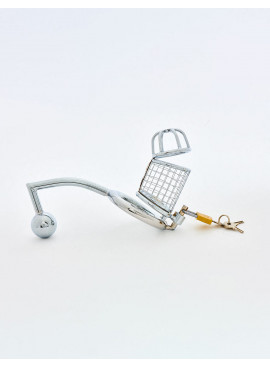 Chastity Cage and Butt Plug from Sinner Gear Unbendable