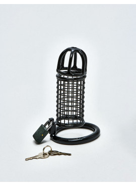 BDSM Chastity Cage from Black Line
