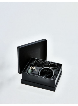 BDSM Chastity Cage from Black Line packaging