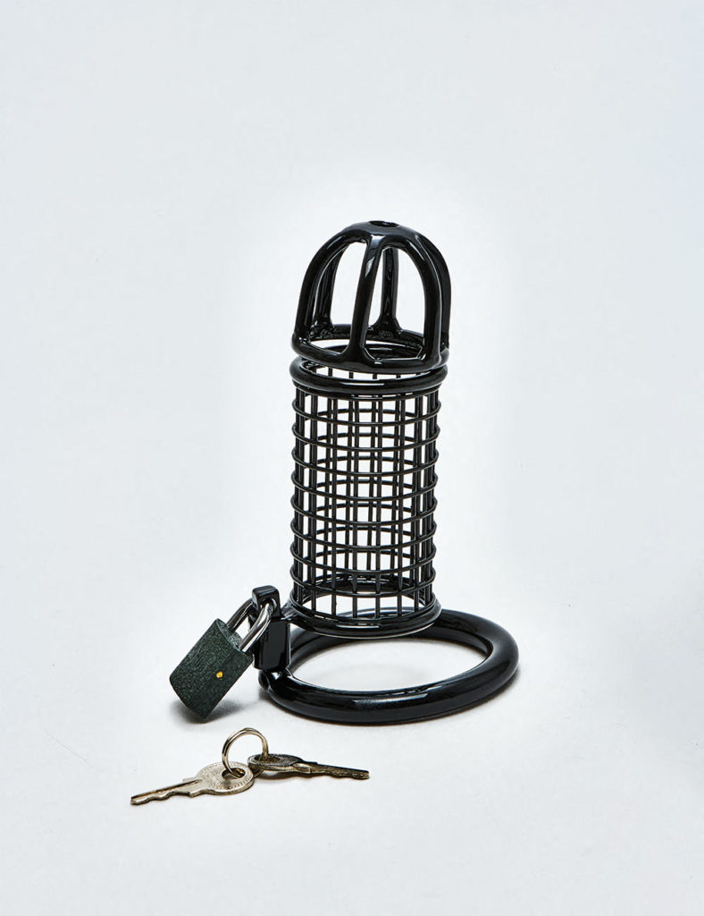 Male Chastity cage blackline uk